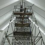 L'œuvre d'art en installation à la Bibliothèque Monique-Corriveau