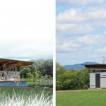 De l'image à la réalité: la Piscine Giffard a ouvert au public. CCM2 + CLCa architectes